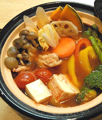 ビューティー栄養トマト鍋