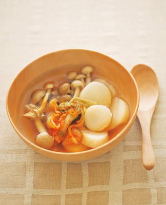 パパッとできる栄養満点朝スープ