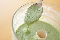 枝豆・モロヘイヤの冷製スープ