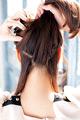 後れ毛に技ありなゆるサイドヘア