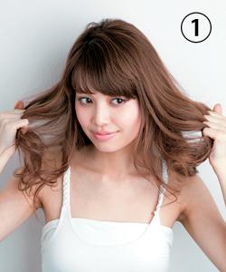 ゆるふわ巻き髪を作るヘアアイロンの使い方