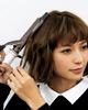 アイロンで作るくせ毛カールショートヘア