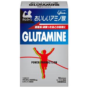 江崎グリコ|おいしいアミノ酸 グルタミン スティックパウダー(ヨーグルト風味)