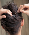 すっきりアップの美人まとめ髪