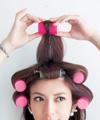 【1】ぱっつん前髪をマジックカラーでふんわり