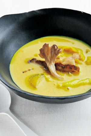 ごぼうのカレースープ