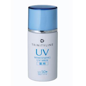 トリニティーライン|薬用ホワイトニングUV ミルク W SPF50+・PA++++