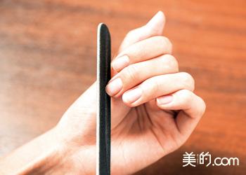 爪の長さを調整する