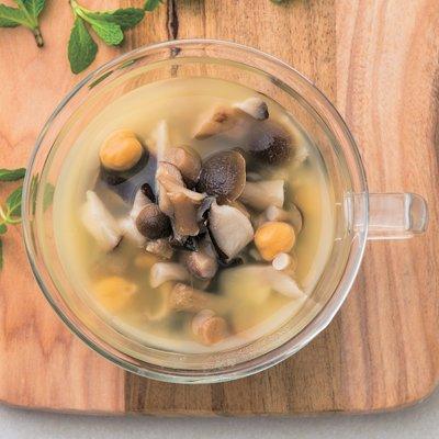 2つの食物繊維がたっぷりスープレシピ