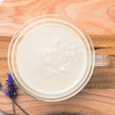 豆乳×長芋の疲労回復スープ