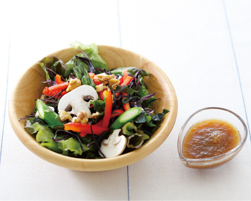 美白強化サラダ