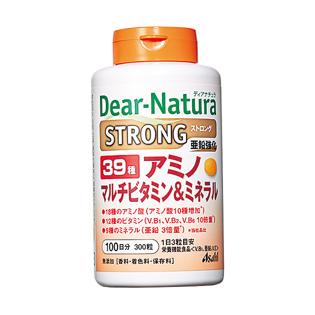 ディアナチュラ ストロング39 アミノ マルチビタミン&ミネラル 300粒(100日分)|\3,200