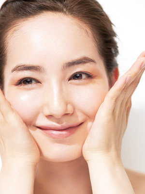 シンプルなのに美しい肌を作り上げる