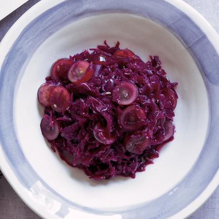 紫キャベツとブドウのザワークラウト