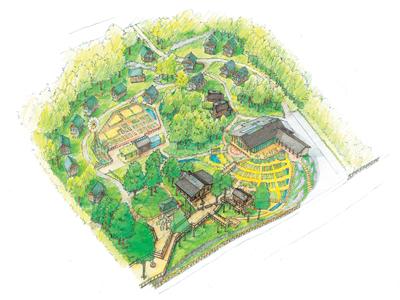 KD_PICA山中湖ヴィレッジリニューアル鳥瞰図
