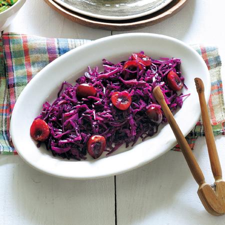 紫キャベツとチェリーのラペ