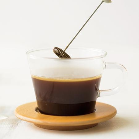 ココナッツオイル入りホイップコーヒー