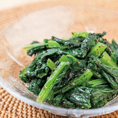 鉄分たっぷり小松菜ナムル