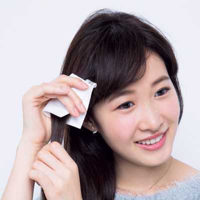 ミニストレートアイロンで縮毛矯正しなくてもくせ毛を改善