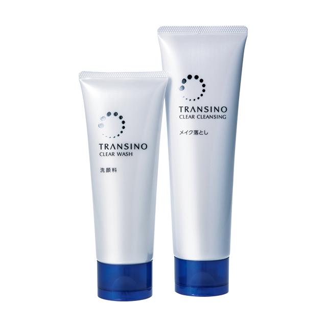 透明感を引き出す薬用洗顔フォーム トランシーノ薬用クリア ウォッシュ
