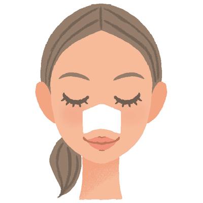 保湿とマッサージで鼻の毛穴の角栓を優しくオフする取り方