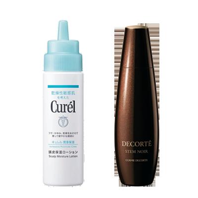 髪に栄養と潤いin!頭皮用エッセンス&ローションで抜け毛予防