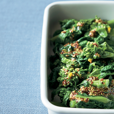 菜の花のマスタードサラダ