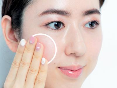 目の位置を調整して顔のバランスを変える