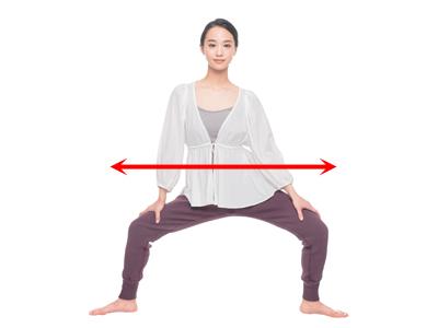 「床バレエストレッチ」で股関節や太ももを柔らかく!