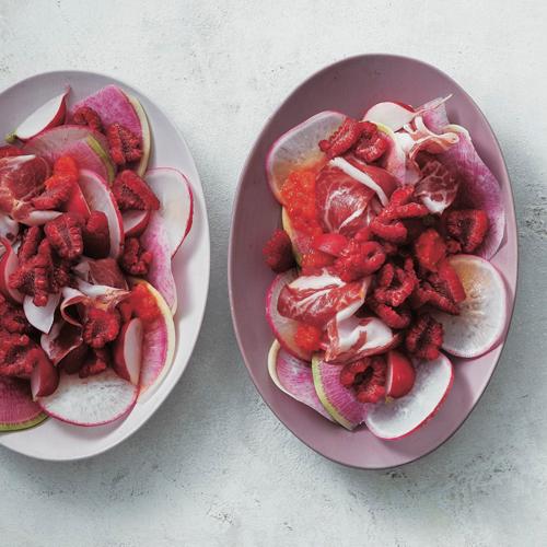 夏にぴったり!赤のワントーンレシピ