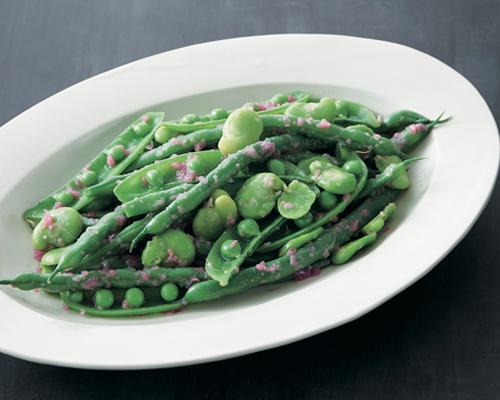 えんどう・いんげん・そら豆、ビーンズ三昧サラダ