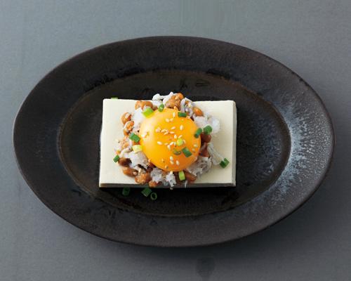 ぶっかけ温豆腐