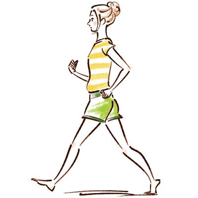 のっぺり型さんは運動・エクササイズでダイエット