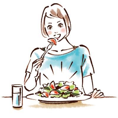 毎日の食事をちょこっと改善