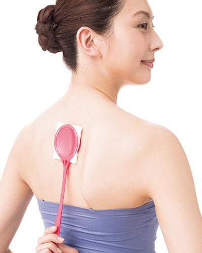 肩&背中のシェービングのやり方