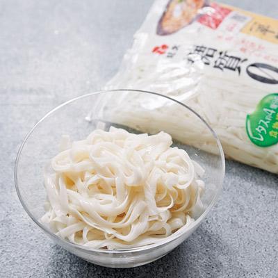 紀文の〝 糖質0g麺〟が便利
