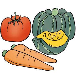 紫外線ダメージをリセットする色の濃い野菜