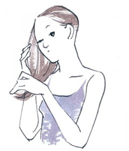 ダメージを受けた髪の緊急レスキューケア