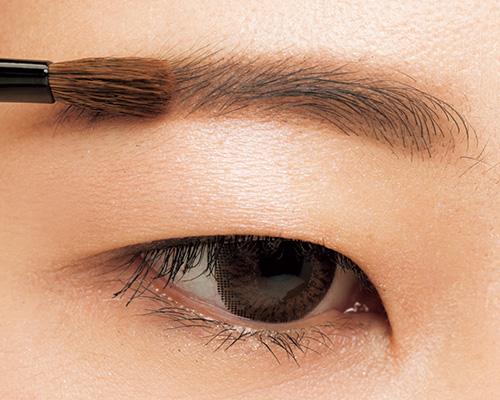 眉毛が細いお悩みを太く濃い平行眉へ