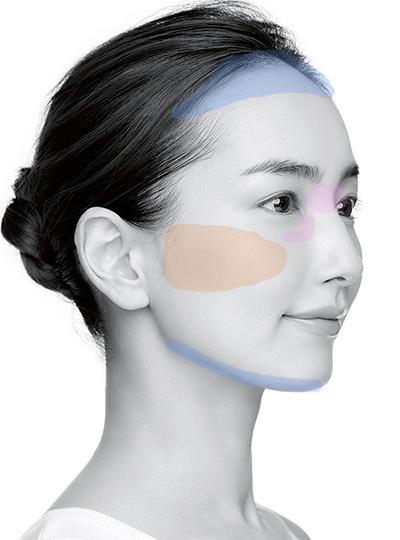 卵顔さんのハイライト&シェーディング小顔テク