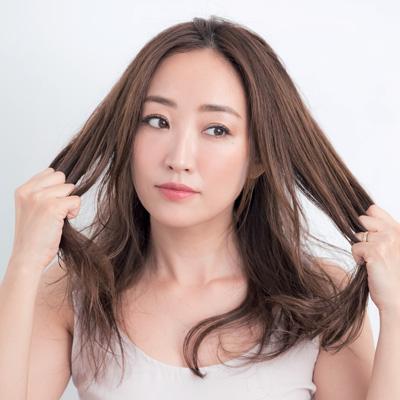 乾いた髪への使い方