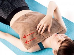 寝ながらチェック!胸式呼吸の正しいやり方