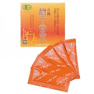 ムソー食品工業 有機梅干 番茶スティック 8g×20袋 ¥1'500