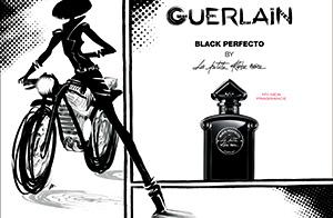 高級ブランド「ゲラン」の香水シリーズから、大人っぽくセクシーな香り
