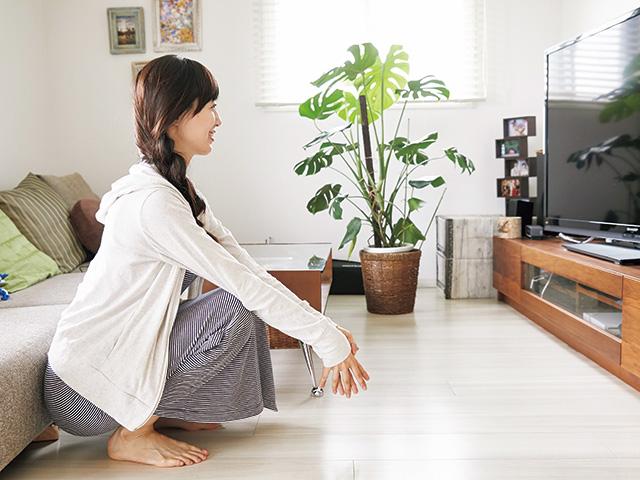 テレビを見ながらお尻を鍛える