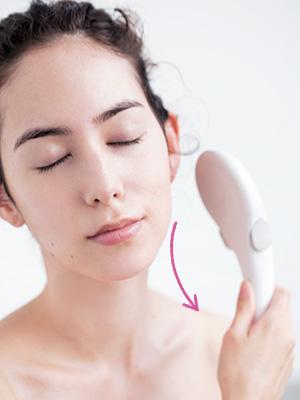 ゾーンに分けた洗顔テクニック