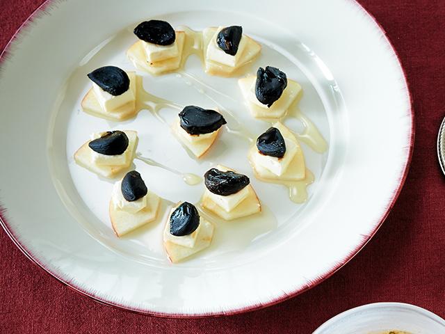 黒にんにく×チーズの発酵パワーデザート
