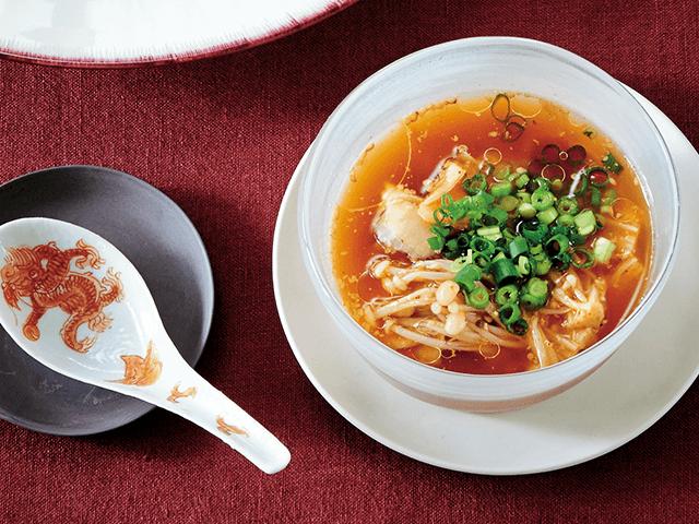 冷製辛み発酵スープ