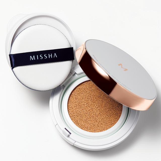 【MISSHA│ミシャ】 Mクッション ファンデーション(モイスチャー)