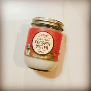低糖質で美肌にもいいココナッツバター